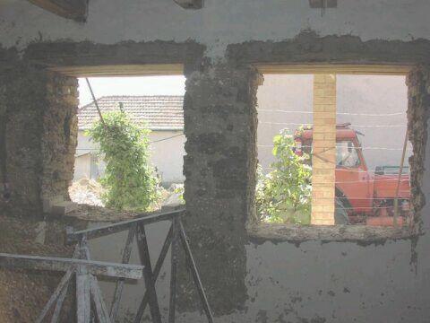 Ablak áthidaló beépítése